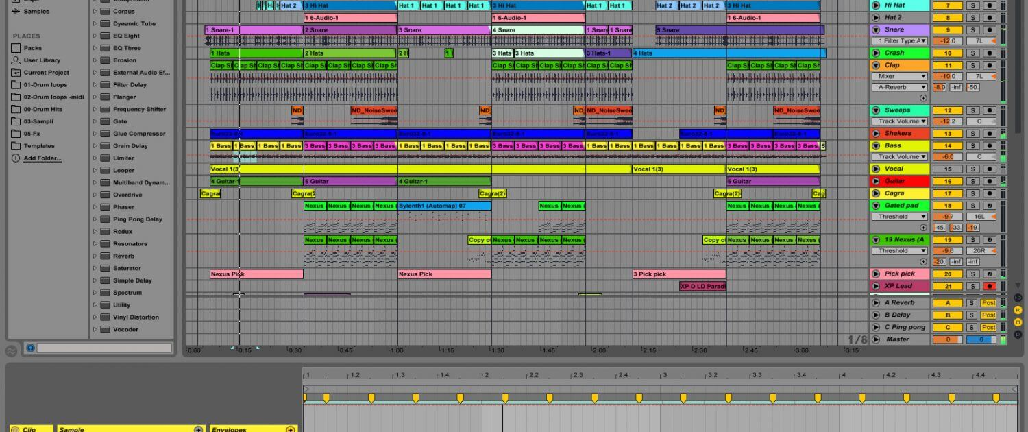 ableton-arrangement
