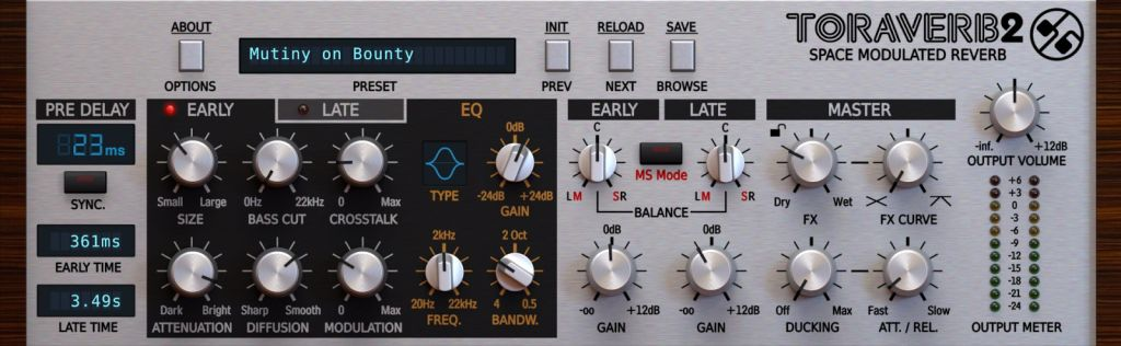 Waves IR1 Convolution Reverb