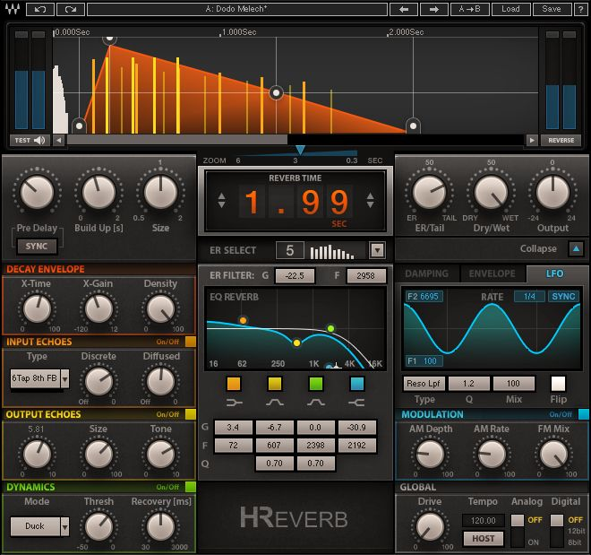 Waves H-Reverb