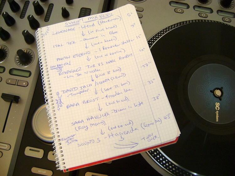 DJ Szett tervezés