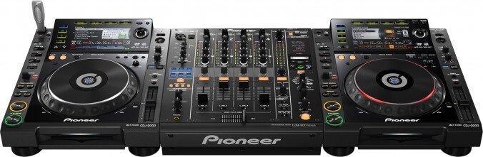 Pioneer kontroller