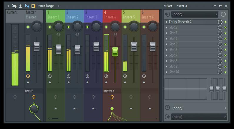 fl studio könyv mixer