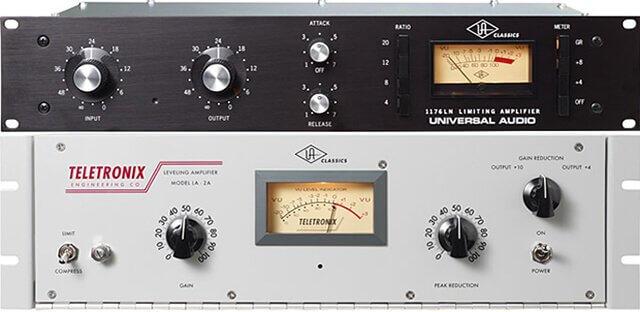 audió effekt kompresszor