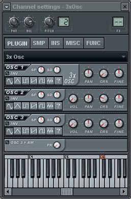 sub bass 3 osc