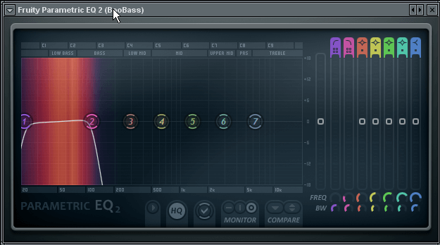 sub-bass eq