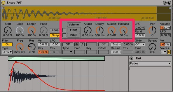 Snare sampler