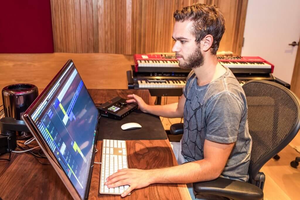 Zedd in studio