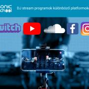 DJ stream platformok kezdő kép